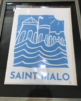 Affiche-de-Saint-Malo-Les-Remparts