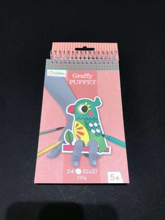 Graffy-Puppet-Perroquet