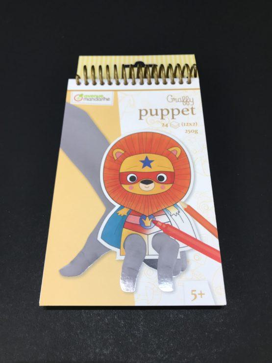 Graffy-Puppet-SuperLion